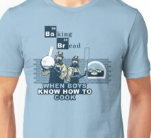 Baking Bread Blue variant Unisex T-Shirt