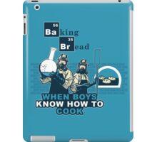 Baking Bread Blue variant iPad Case/Skin