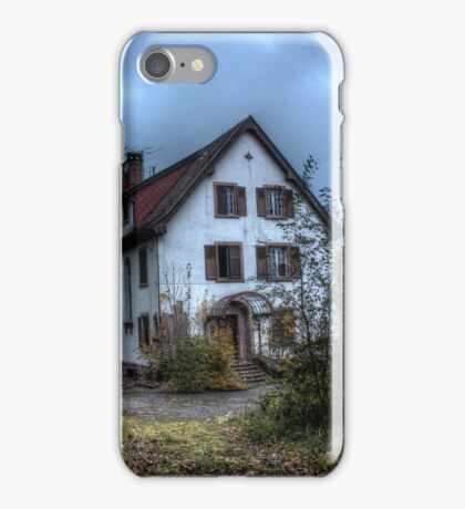 House in the woods iPhone Case/Skin