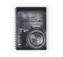 Alias Investigations Spiral Notebook