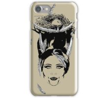 Head Full of Feathers iPhone Case/Skin