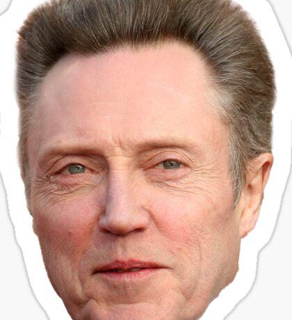 Christopher Walken Sticker