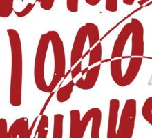 1000-7 Sticker