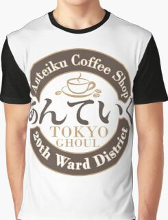 Antieku Coffee Shop (Clean Label) Graphic T-Shirt
