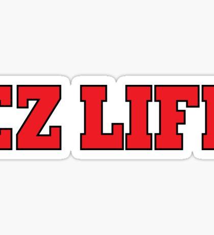 EZ LIFE (Red) Sticker
