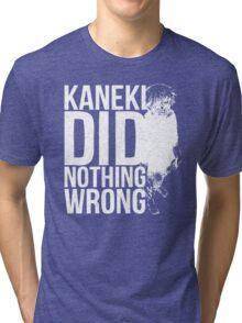 Kaneki Ken! (white) Tri-blend T-Shirt