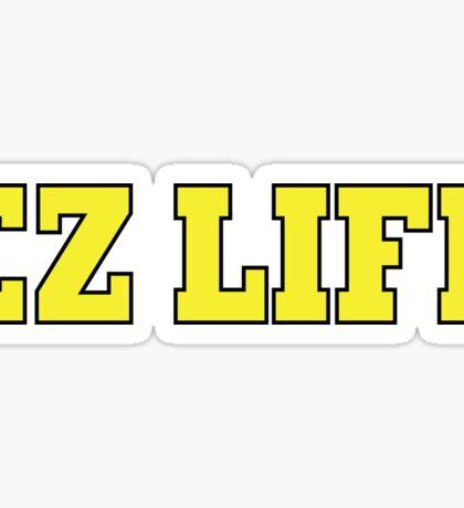EZ LIFE (Yellow) Sticker