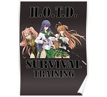 Survival Training Poster