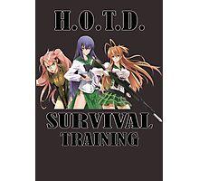 Survival Training Photographic Print