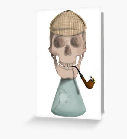 Mr. Holmes Greeting Card