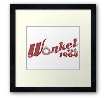 WANKEL Framed Print