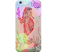 Mysterious Seahorse iPhone Case/Skin