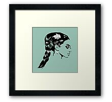Lady of the Vine Framed Print