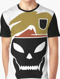 Rambo skull Graphic T-Shirt