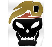 Rambo skull Poster