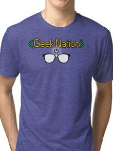 Geek Nation Tri-blend T-Shirt
