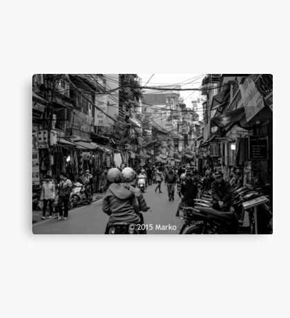Mayhem in Hanoi? Canvas Print