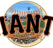 San Francisco Giants Stadium Logo by j423985