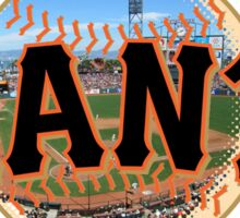 San Francisco Giants Stadium Logo Sticker