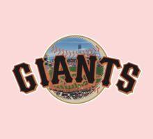 San Francisco Giants Stadium Logo Baby Tee