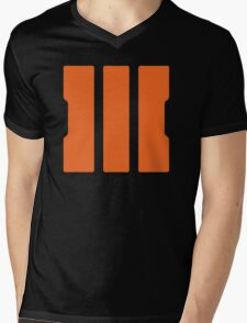 III Mens V-Neck T-Shirt