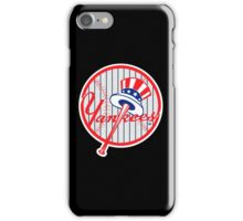 New York Yankees Pinstripes Logo iPhone Case/Skin