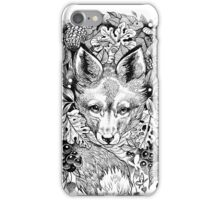 Hidden fox  iPhone Case/Skin