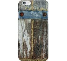 Steel Wood and Sand iPhone Case/Skin