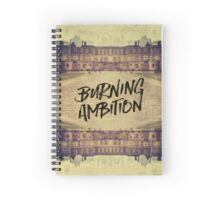 Burning Ambition Fontainebleau Chateau France Architecture Spiral Notebook