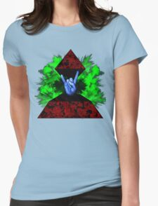 Psychedelic Rock Womens Fitted T-Shirt