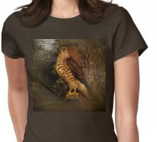 Vintage hawk Womens Fitted T-Shirt