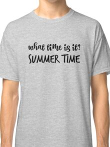 What time is it? Classic T-Shirt