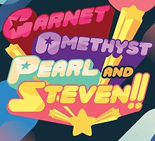 We are the Crystal Gems! by Thello Caetano