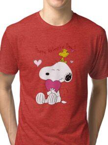 Snoopy Valentine Day Tri-blend T-Shirt