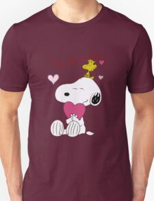 Snoopy Valentine Day T-Shirt