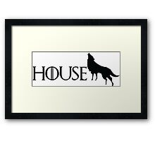 Game of Thrones - Stark Framed Print