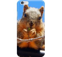 MUNCHING ON YOUNG LEAVES iPhone Case/Skin