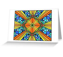 Colorful Pattern 4 Greeting Card
