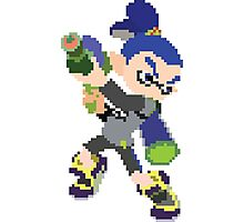 Pixel Blue Inkling Photographic Print
