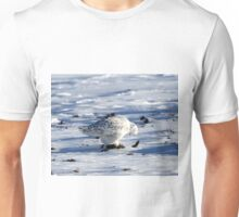The owl and his pellet Unisex T-Shirt