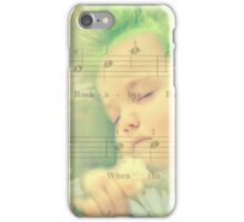 Even Baby Trolls need a nap :) iPhone Case/Skin