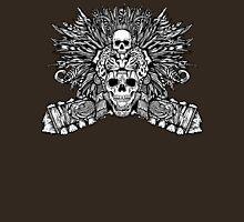 Aztec Jaguar Mask and Macuahuitl Unisex T-Shirt