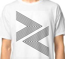 Rock, Paper, Scissors - Charcoal Classic T-Shirt