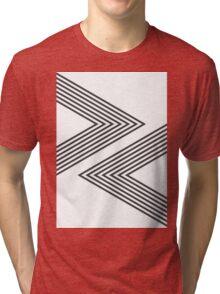 Rock, Paper, Scissors - Charcoal Tri-blend T-Shirt