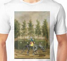 A Formal Garden with Dino Rider Unisex T-Shirt