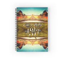 Eye Heart Art Louvre Museum Paris da Vinci Gears Spiral Notebook