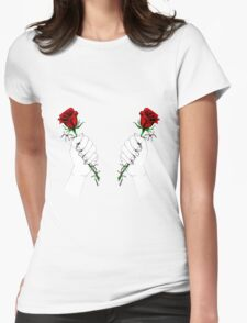 Barbed Wire Roses  T-Shirt