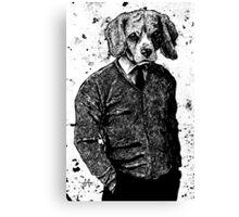 Temporary Beagle Canvas Print