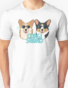 CORGI SQUAD - (The Doctor and the Queen) Unisex T-Shirt