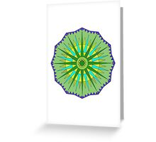 Colorful Pattern 2D Greeting Card